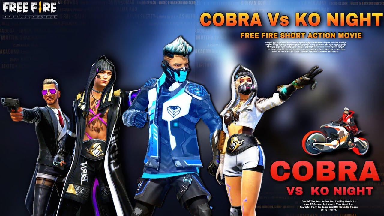 Cobra Vs KO Night | Part 2 | Free Fire Story In Hindi | Cobra Story | Jazz ff Gamer
