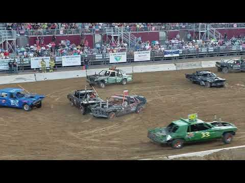 2017 Utah County Fair Demolition Derby