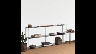 Nordic racks modern minimalist shelf living room decoration table bookshelf