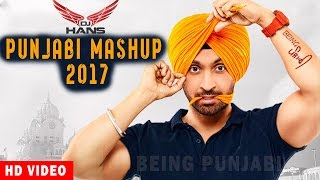 Punjabi Mashup  - DJ Hans | Non Stop Bhangra Songs | Latest Punjabi Songs | New Bhangra Mashup