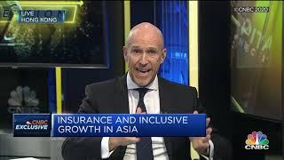 AXA Asia CEO Gordon Watson discusses inclusive insurance on CNBC Asia