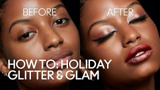Holiday Glitter & Glam Makeup Tutorial | MAC Cosmetics