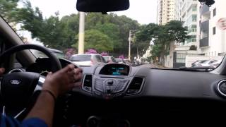 #63 Primeiro vídeo a bordo do New Fiesta 1.6 SE Powershift(, 2015-07-02T10:41:01.000Z)