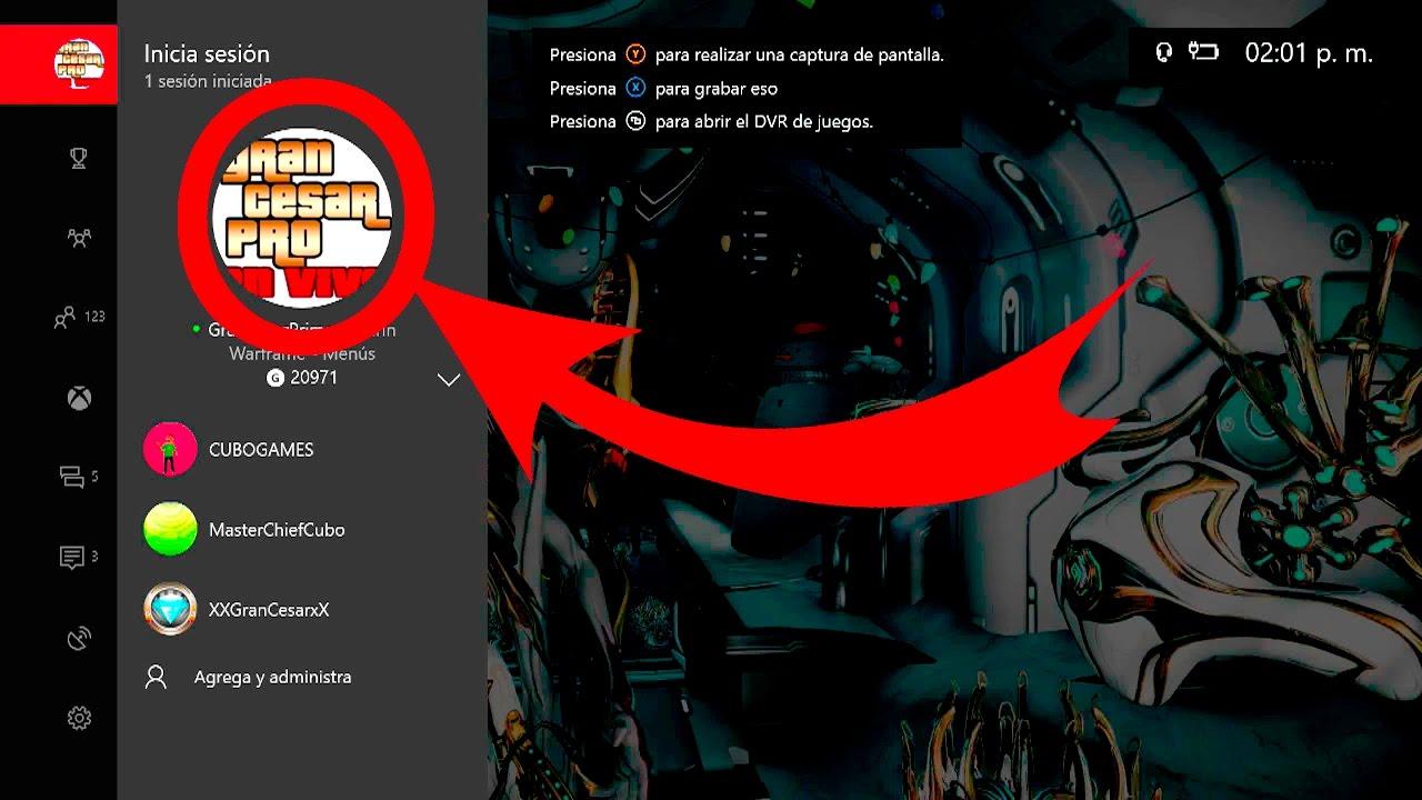 Como poner una imagen personalizada en tu perfil de xbox - Como poner una mosquitera ...
