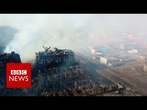 China chemical plant explosion: 'The blast smashed it all' – BBC News