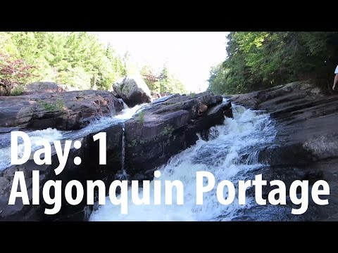 Algonquin Park Back Country Camping (Day:1 Algonquin Portage)