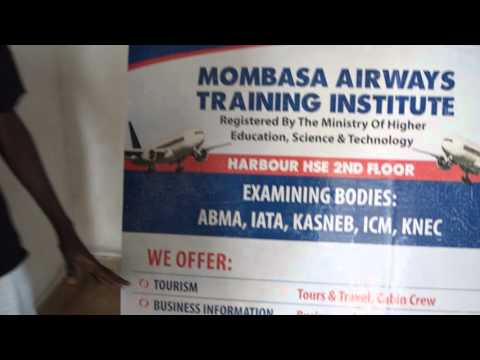 Mombasa Airways Media crew 1