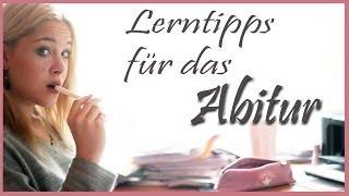 Lerntipps für das Abitur/ Klausuren