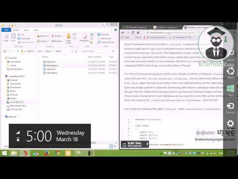 Learn Zend 2   Create Album Database   PHP Framework   Krumony