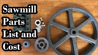 Video DIY Sawmill Pt 2: Parts List Cost And Where To Get... download MP3, 3GP, MP4, WEBM, AVI, FLV Juli 2018