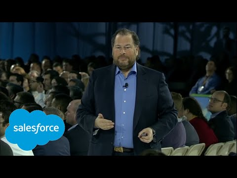 Salesforce World Tour New York Opening Keynote with Marc Ben