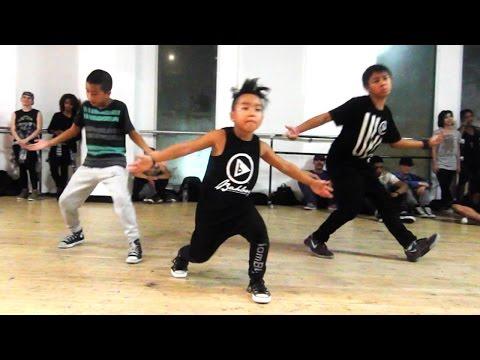 I DON'T MIND - @Usher | ft 8-YEAR-OLD AIDAN PRINCE | @MattSteffanina Dance Choreography