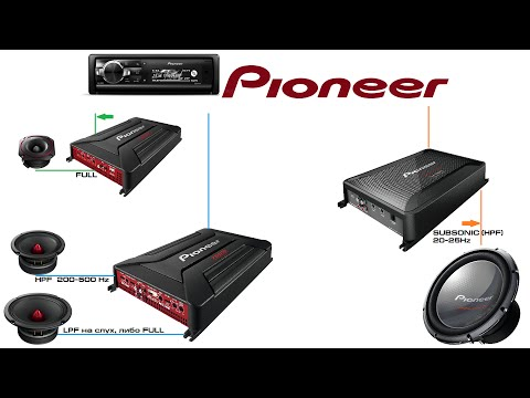 Собираем и настраиваем аудиосистему Pioneer