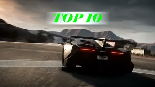 Need For Speed Rivals Top 10 Cars