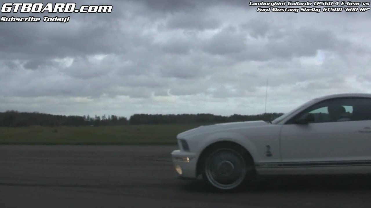 1080p lambo lp560 4 vs ford mustang shelby gt500 600 hp