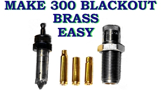 make 300 blackout brass easy with lee power quick trim full version