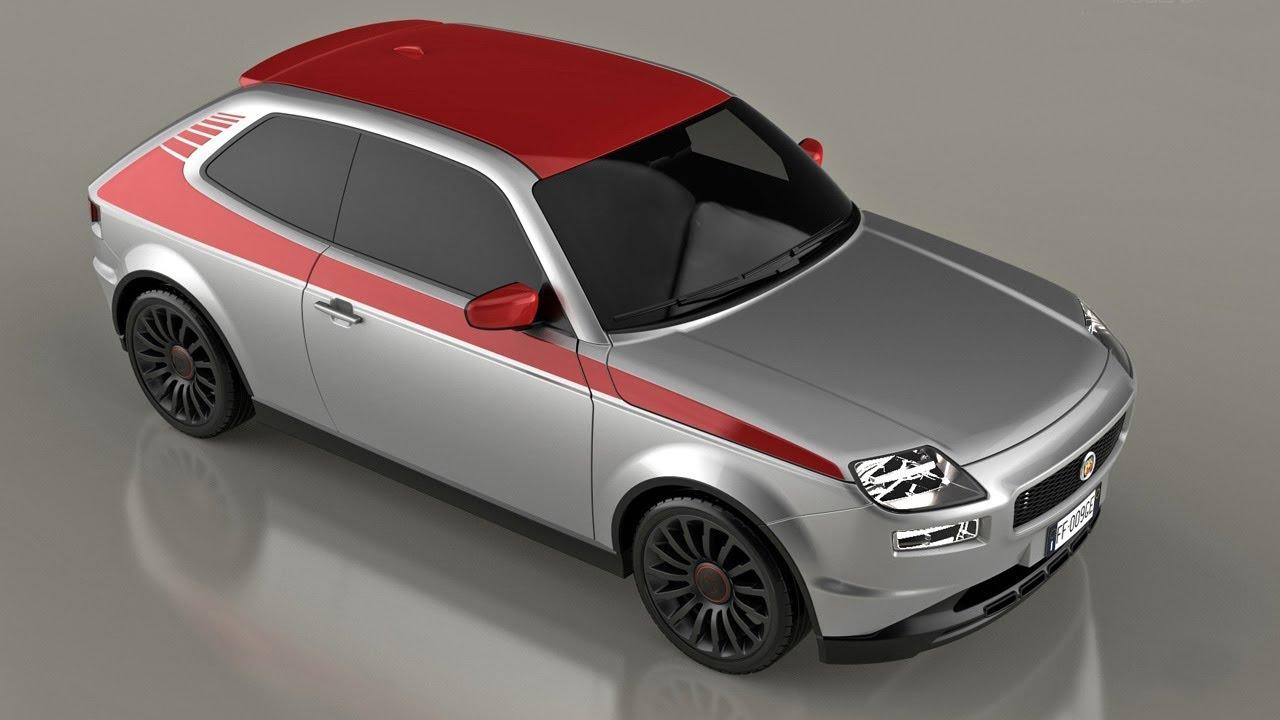 Bien-aimé Fiat 127 New Concept - YouTube EW97