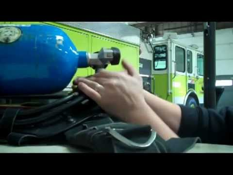 How to fill an SCBA
