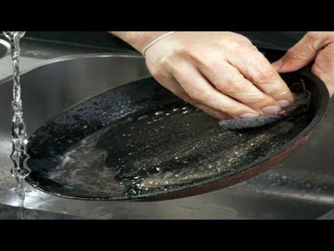 नॉन स्टिक तवा पैन कड़ाही को साफ़ करने का सबसे सटीक तरीका -अनोखी ट्रिक- कहेंगे काश पहले पता होता