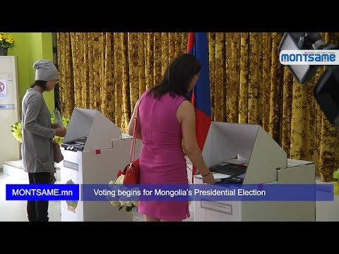 Voting begins for Mongolia's Presidential Election