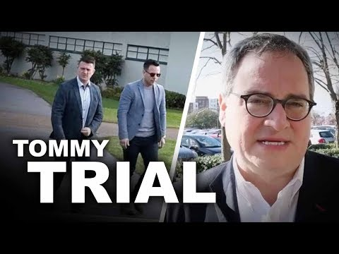 Ezra Levant: Tommy Robinson trial Day 3 updates