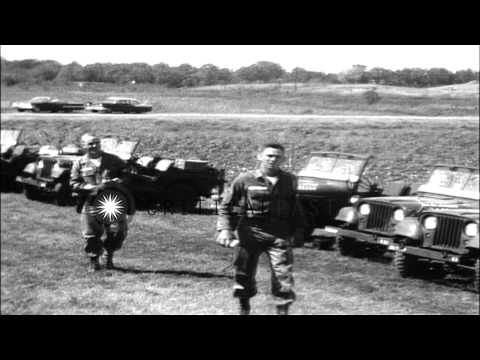 Troop tent area during Mississippi riots. HD Stock Footage