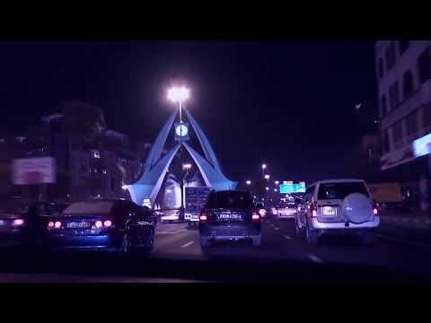 Driving at Night - Dubai