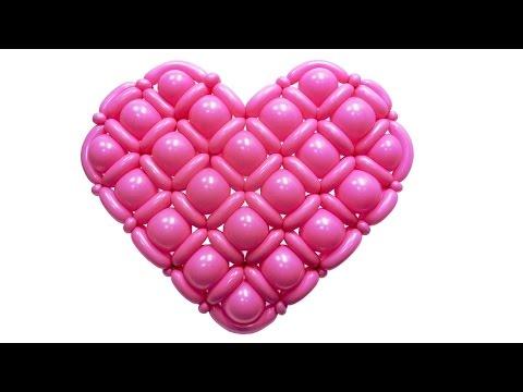 Сердце из воздушных шаров. Для свадьбы, на день св. Валентина скачать