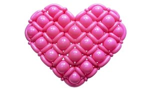 Сердце из воздушных шаров. Для свадьбы, на день св. Валентина(Пояснения и обсуждения здесь: ..., 2015-08-03T17:02:35.000Z)