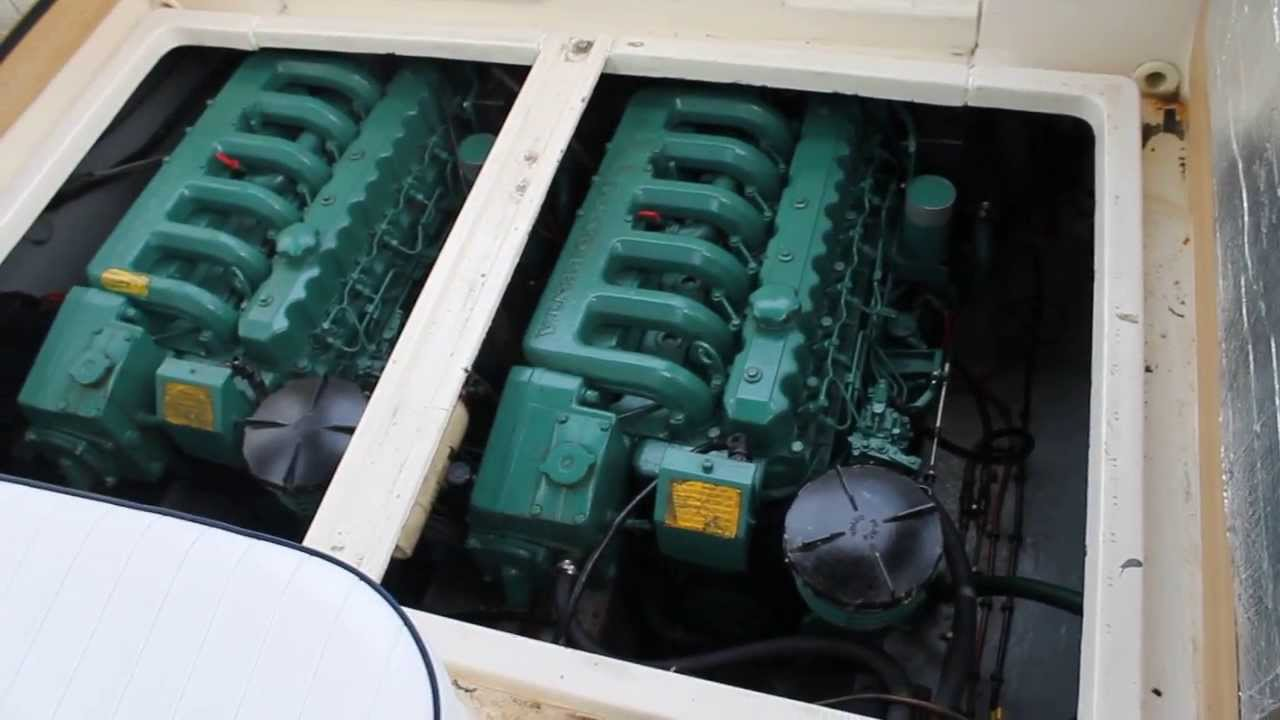 Sealine 285 For Sale Twin Volvo Penta Aqad 40bsel