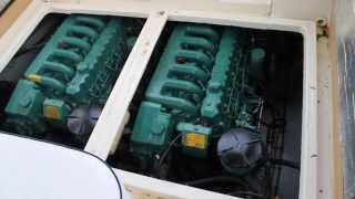 sealine 285 for sale twin Volvo-Penta AQAD 40B diesel engines