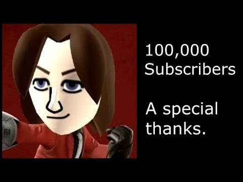 Thank you for the support. 100,000 Subscribers.