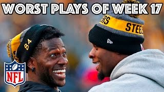 Worst Plays | Week 17 NFL Highlights