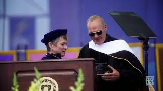 Smasher's Hollywood Hookup - Michael Keaton reminds everyone he's Batman in his commencement Speech