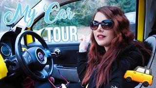 WHAT'S IN MY CAR 2017? | Car Tour | Cherry Wallis
