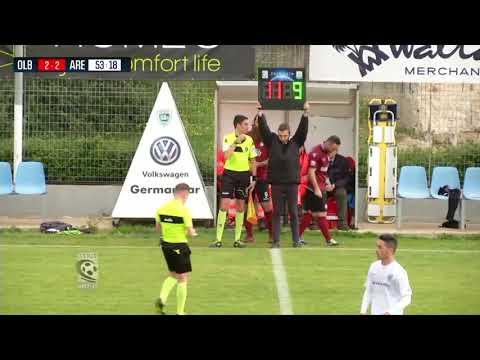 2017-18 / Serie C girone A / rec 28a gg / Olbia-Arezzo 2-3