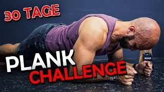 30 Tage in Folge Plank! Das Experiment