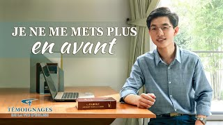 Témoignage chrétien en français 2020 « Je ne me mets plus en avant »