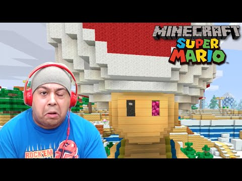 SUPER MARIO MINECRAFT? ILL TRY THIS SH#T! [MINECRAFT: SUPER MARIO EDITION]