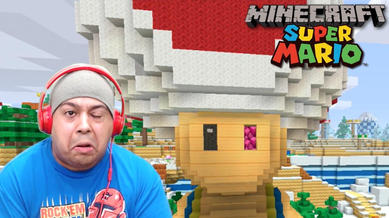 how to make mario minecraft