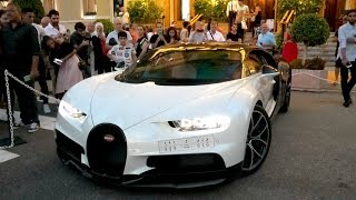 $9Million in BUGATTI CHIRONS came out at midnight in Monaco!
