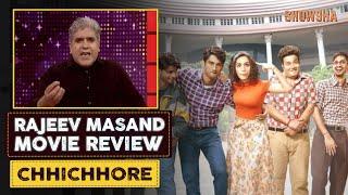 Chhichhore Movie Review By Rajeev Masand (हिंदी) | Sushant Singh Rajput | Shraddha Kapoor |  SHOWSHA