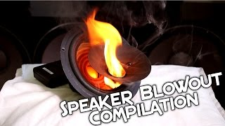 SPEAKER BLOWOUT COMPILATION | 5K SPECIAL!