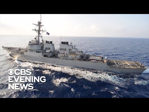 U.S. warship takes