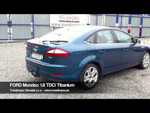 ford mondeo 1 8 tdci titanium youtube. Black Bedroom Furniture Sets. Home Design Ideas