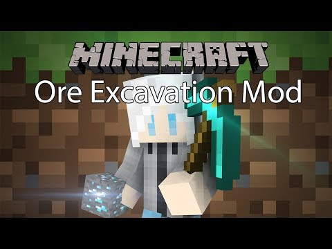 Minecraft ore excavation 1 12 2 | Ore Excavation Mod for