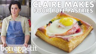 Claire Makes Four Easy Puff Pastry Recipes | Bon Appétit