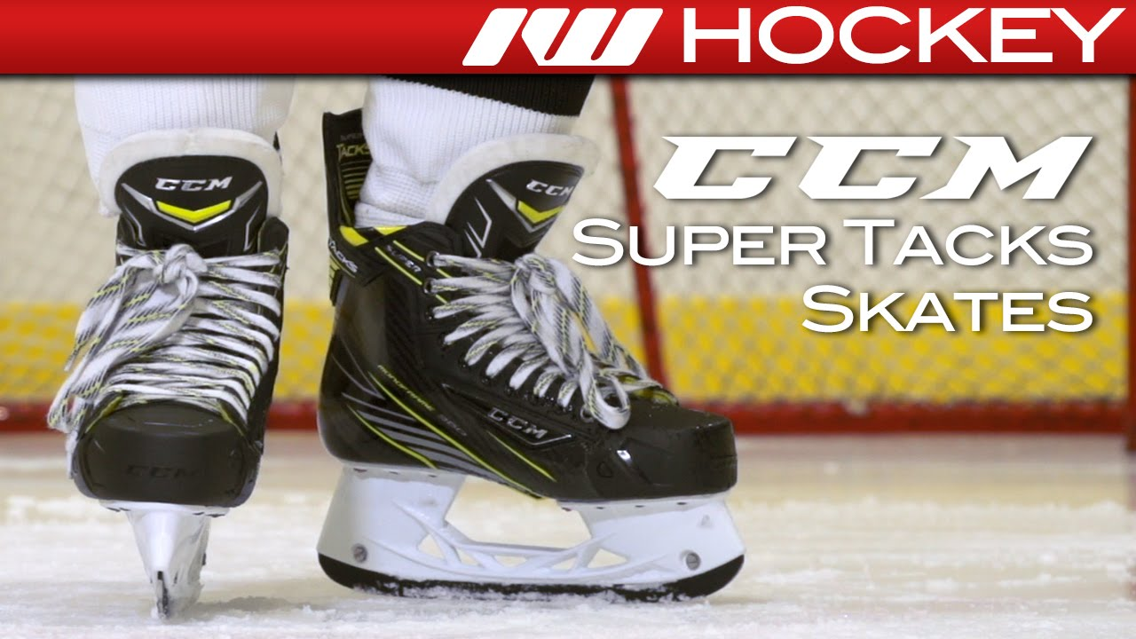 da7d8d01217 CCM Super Tacks Skate On-Ice Review - YouTube