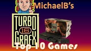 Top 10 Turbo Grafx 16 Games | MichaelBtheGameGenie
