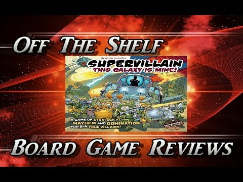 This Galaxy Is Mine Strategy Card Game Supervillain Base Game